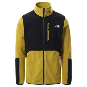 Bluza Drumetie Barbati The North Face Glacier Pro Full Zip Mustar