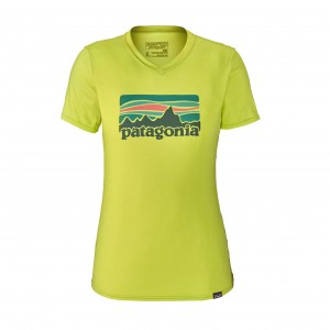 Tricou Patagonia Cap Daily Graphic W Lime