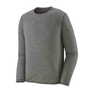 Bluza Barbati Patagonia L/S Capilene Cool Lightweight Shirt Feather Grey X-Dye (Gri)