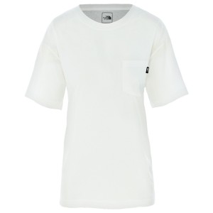 Tricou Femei The North Face W Relaxed Pocket Tee Tnf White (Alb)