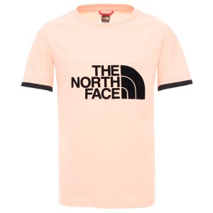Tricou Copii The North Face Girl Rafiki Short Sleeve Tee Impatiens Pink (Roz)