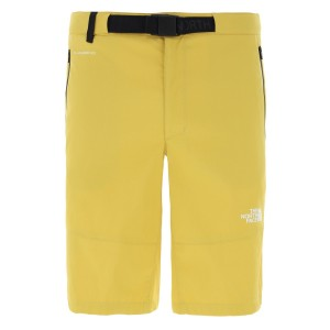 Pantaloni Scurti Drumetie Barbati The North Face M Lightning Short Bamboo Yellow (Galben)