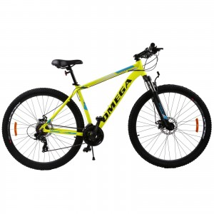 "Bicicleta Mountain Bike Omega Thomas 29"" Galben"