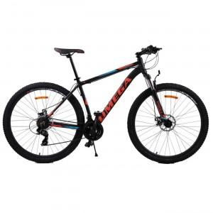 "Bicicleta Mountain Bike Omega Thomas 29"" Negru / Albastru / Portocaliu"