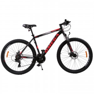 "Bicicleta Mountain Bike Omega Thomas 29"" Negru / Rosu"