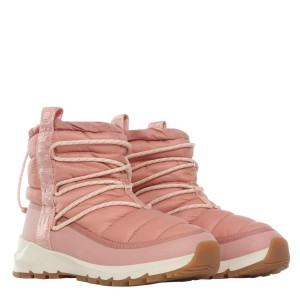 Ghete Activitati Urbane Femei The North Face W Thermoball Lace Up Pink Clay/Morning Pink (Roz)