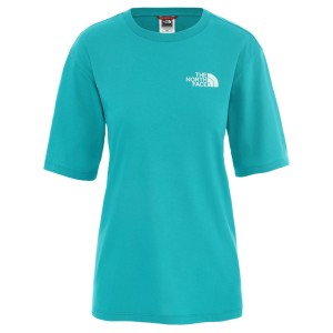 Tricou Femei The North Face W Bf Simple Dome Jaiden Green (Turcoaz)
