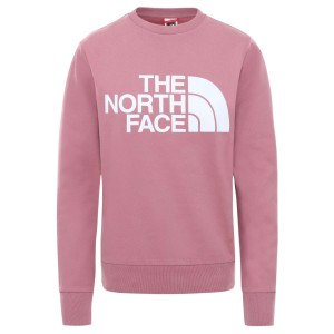 Bluza Activitati Urbane Femei The North Face W Standard Crew Mesa Rose (Roz)