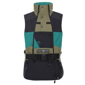 Vesta Activitati Urbane Barbati The North Face Steep Tech Vest Burnt Olive Green/Ever Green/Tnf Black (Kaki)