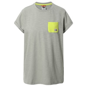Tricou Casual Femei The North Face S/S Campen Tee Gri