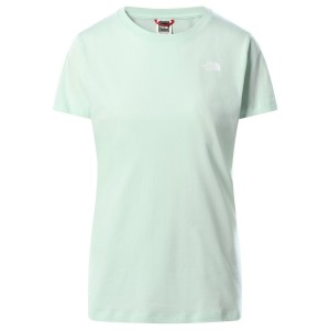 Tricou Casual Femei The North Face S/S Simple Dome Tee Vernil