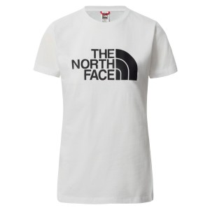 Tricou Casual Femei The North Face S/S Easy Tee Alb