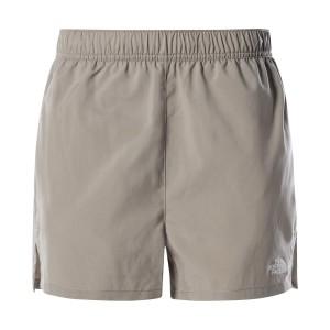 Pantaloni Scurti Alergare Femei The North Face Movmynt Short Gri
