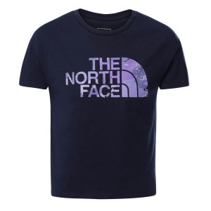 Tricou Alergare Copii The North Face Girl'S S/S On Mountain Tee Bleumarin