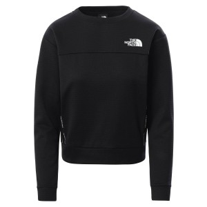 Bluza Alergare Femei The North Face Mountain Athletics Pullover Negru