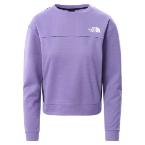 Bluza Alergare Femei The North Face Mountain Athletics Pullover Mov