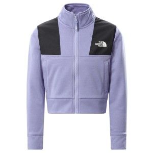 Bluza Drumetie Copii The North Face Girl'S Surgent Full Zip Crop Mov