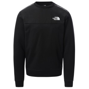 Bluza Alergare Barbati The North Face Mountain Athletics Crew Negru