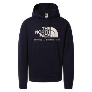Hanorac Casual Barbati The North Face BERKELEY CALIFORNIA HOODIE- IN SCRAP MAT Bleumarin