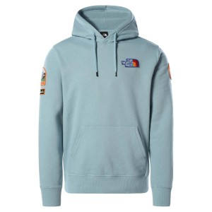 Hanorac Casual Barbati The North Face Novelty Patch Pullover Hoodie Bleu