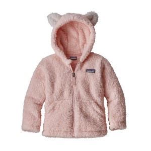 Polar Copii Hiking Patagonia Furry Friends Hoody Roz Deschis