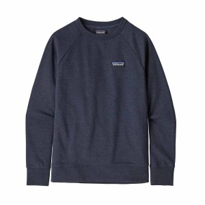 Bluza Drumetie Copii Patagonia Kids Lightweight Crew Sweatshirt P-6 Label: New Navy (Bleumarin)