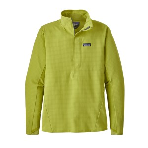 Bluza Mid-Layer Barbati Alpinism Patagonia R1 TechFace Lime