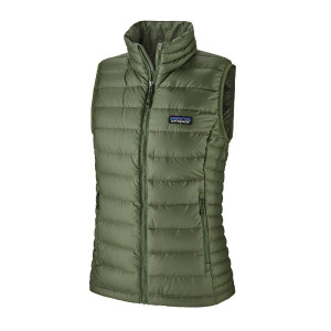 Vesta Puf Femei Patagonia Down Sweater Vest Camp Green  (Verde)