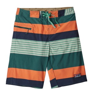 Boardshorts Barbati Patagonia Stretch Wavefarer Board - 21 in. Verde