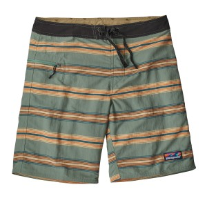 Boardshorts Barbati Patagonia Wavefarer Board - 19 in. Verde