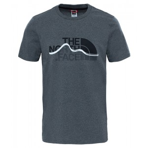 Tricou Barbati The North Face Mount Line Gri