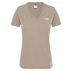 Tricou Femei The North Face Simple Dome Gri