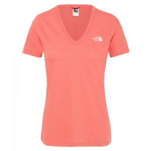Tricou Femei The North Face Simple Dome Portocaliu