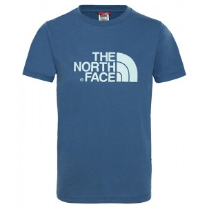 Tricou Juniori The North Face Easy Albastru