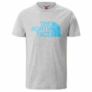 Tricou Casual Copii The North Face Youth S/S Easy Tee Gri