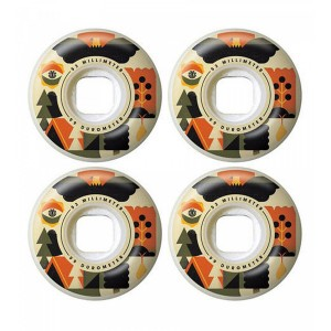 Roti Skateboard Element Forester 53 mm Multicolor