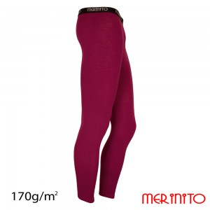 Pantaloni First Layer Merinito 100% Merinos 170g M Mov