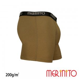 Lenjerie Barbati Merinito Heavy Duty Boxer 200g/mp Bej