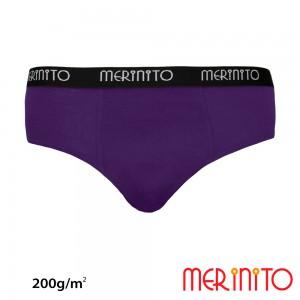 Lenjerie Merinito Briefs 100% Merinos 200g M Mov