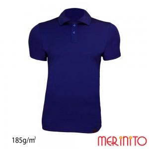 Tricou Merinito Polo Jersey 185G M Bleumarin