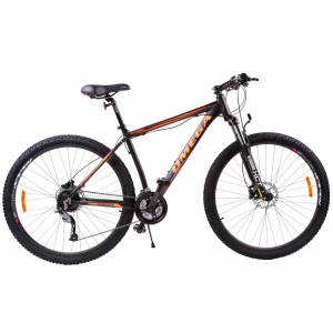 "Bicicleta Mountain Bike Omega Bettridge 29"" Negru / Portocaliu"