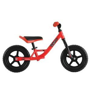 Bicicleta fara pedale Haro Prewheelz 12 rosu aprins 2019