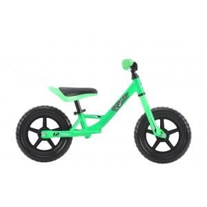 Bicicleta Haro PreWheelz 12 EVA fara pedale Verde 2019