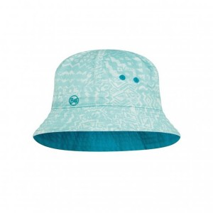 Palarie Copii Buff Bucket Hat Bawe Aqua (Bleu)