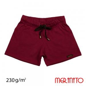 Pantaloni Scurti Merinito Shorties 230G K Visiniu