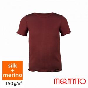 Tricou Merinito 70% Matase + 30% Merinos 150g K Visiniu