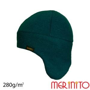 Caciula Copii Merinito Soft Fleece 100% Lana Merinos Turcoaz