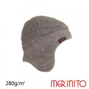 Caciula Merinito Soft Fleece 100% Merinos K Gri