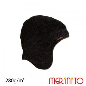 Caciula Merinito Soft Fleece 100% Merinos K Negru