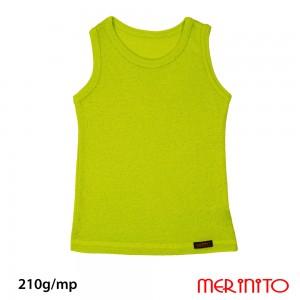 Maiou Merinito Rib Pointelle 100% Merinos 210g K Lime